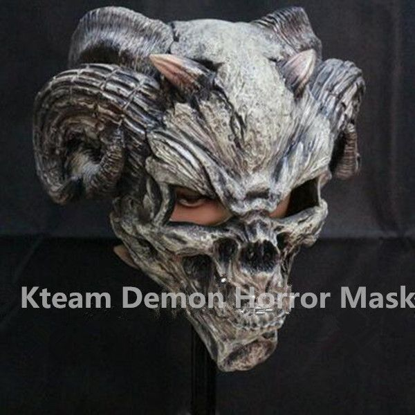 2017 Hot Selling Realistic Full Head Bull Mask Demon