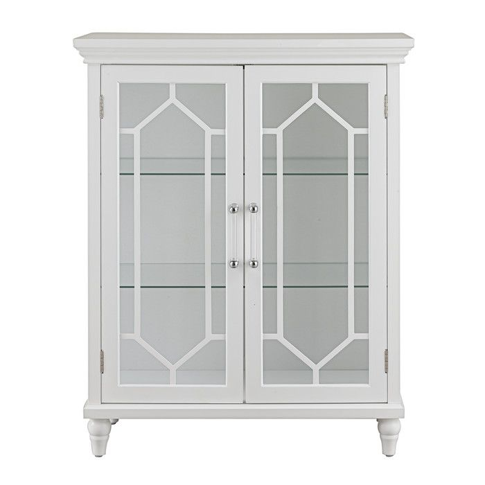 You Ll Love The Toulouse 2 Door Floor Cabinet At Wayfair Great Deals On All Products With Free Shipping On Accent Cabinet Accent Doors Elegant Home Fashions