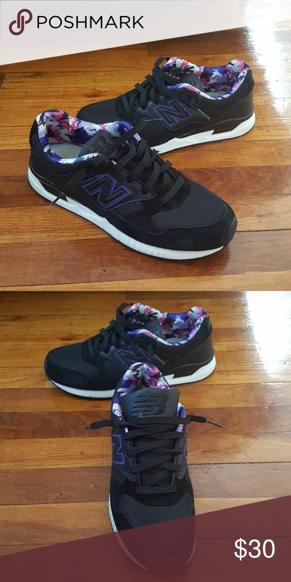 3002a85d70646 New Balance 530 Encap sneakers Black shoe/ purple,pink,white and black on