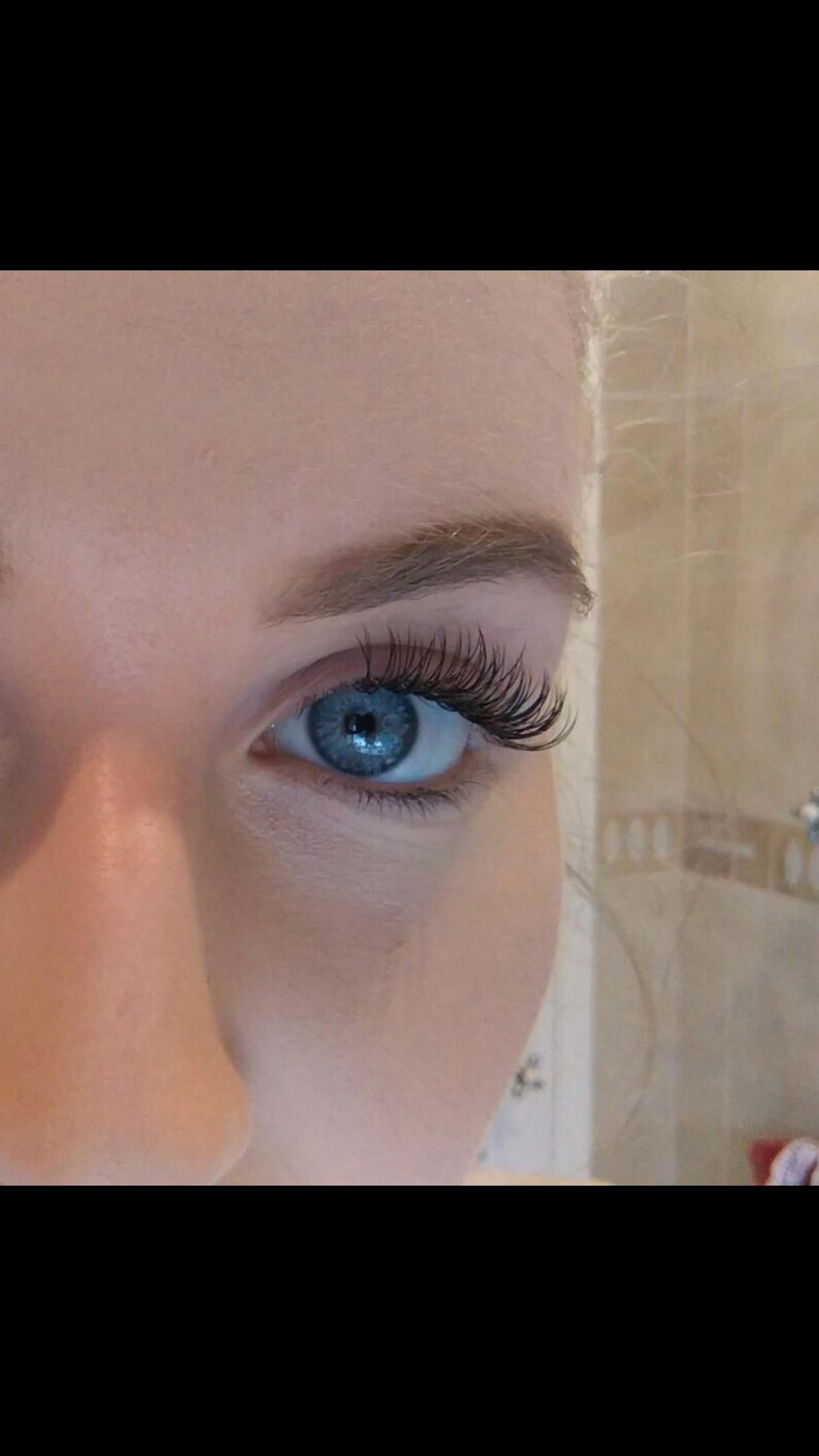 Full Set Of Semi Permanent Eyelashes 65 By Jenny Beauty Salon