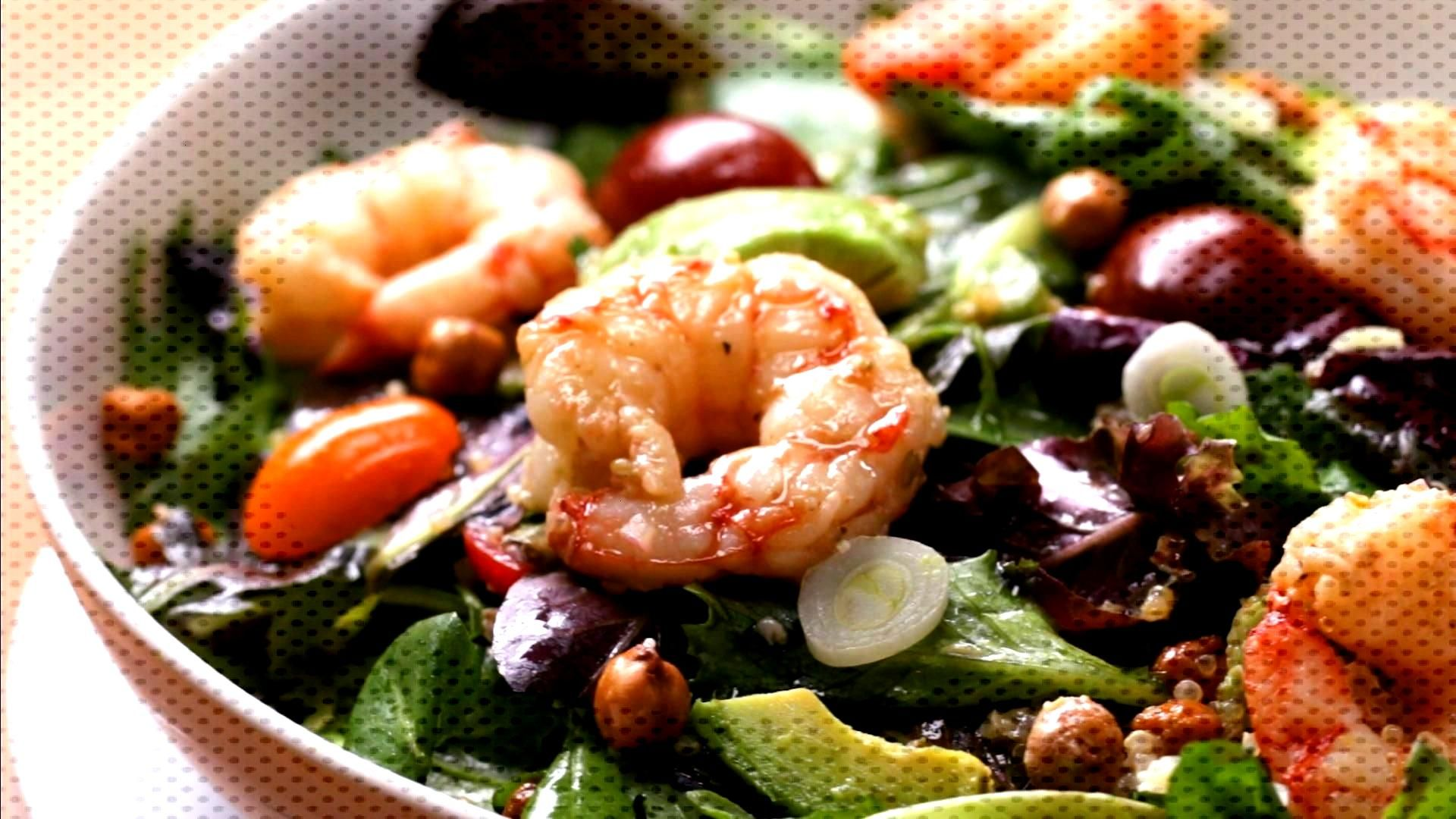 Seared Shrimp And Avocado Salad Recipe by Tasty Seared Shrimp And Avocado Salad Recipe by Tasty,