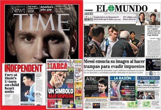La prensa de Madrid debería pedir perdón a Messi