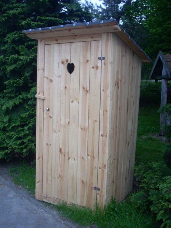 Toilettenhauschen Gerateschuppen Mit Sitz Mit Dacheindeckung Gartentoilette Toiletten Und Garten