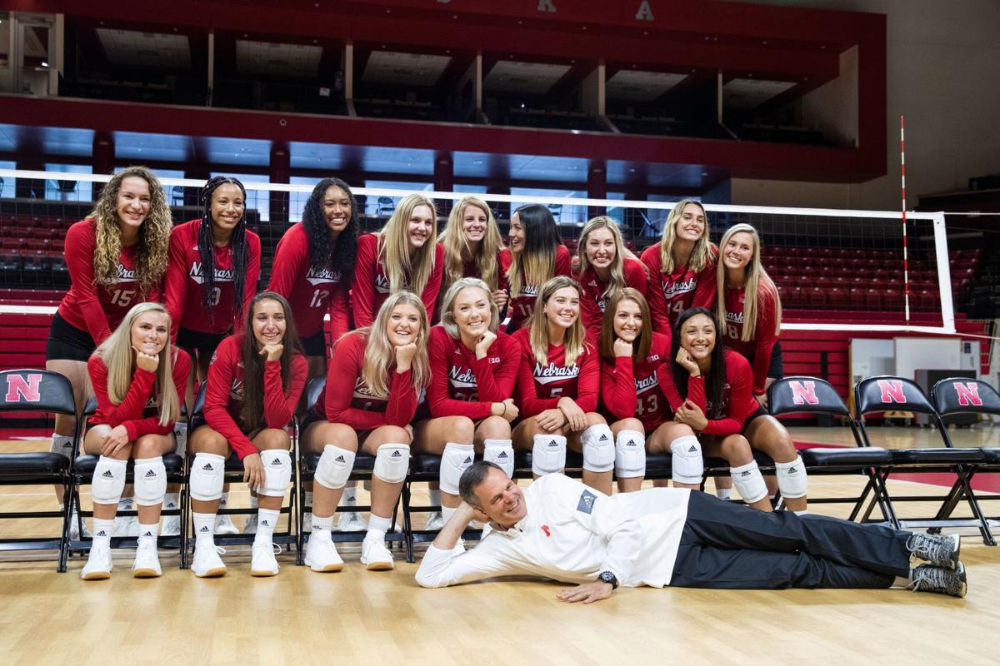 It S Going To Be A Dogfight For The Three Huskers Competing For Nebraska S Libero Spot Huskers Omaha Com Volleyball Pictures Volleyball Team Nebraska