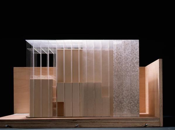 Love a well made model, my weakness. Herzog & de Meuron  Greek Orthodox Church, Zurich, Switzerland,