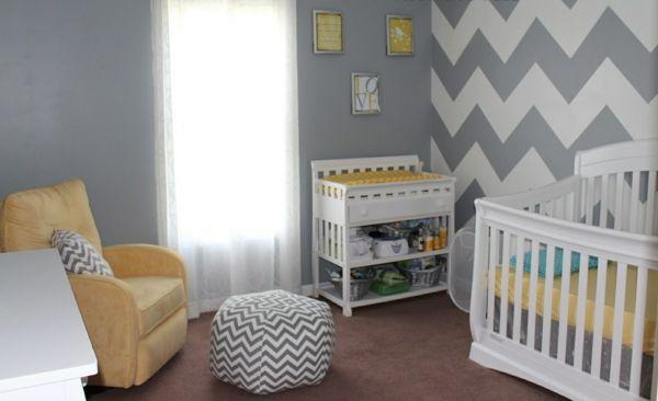 Wandfarbe Grau ist der neue Trend in der Zimmergestaltung Kids