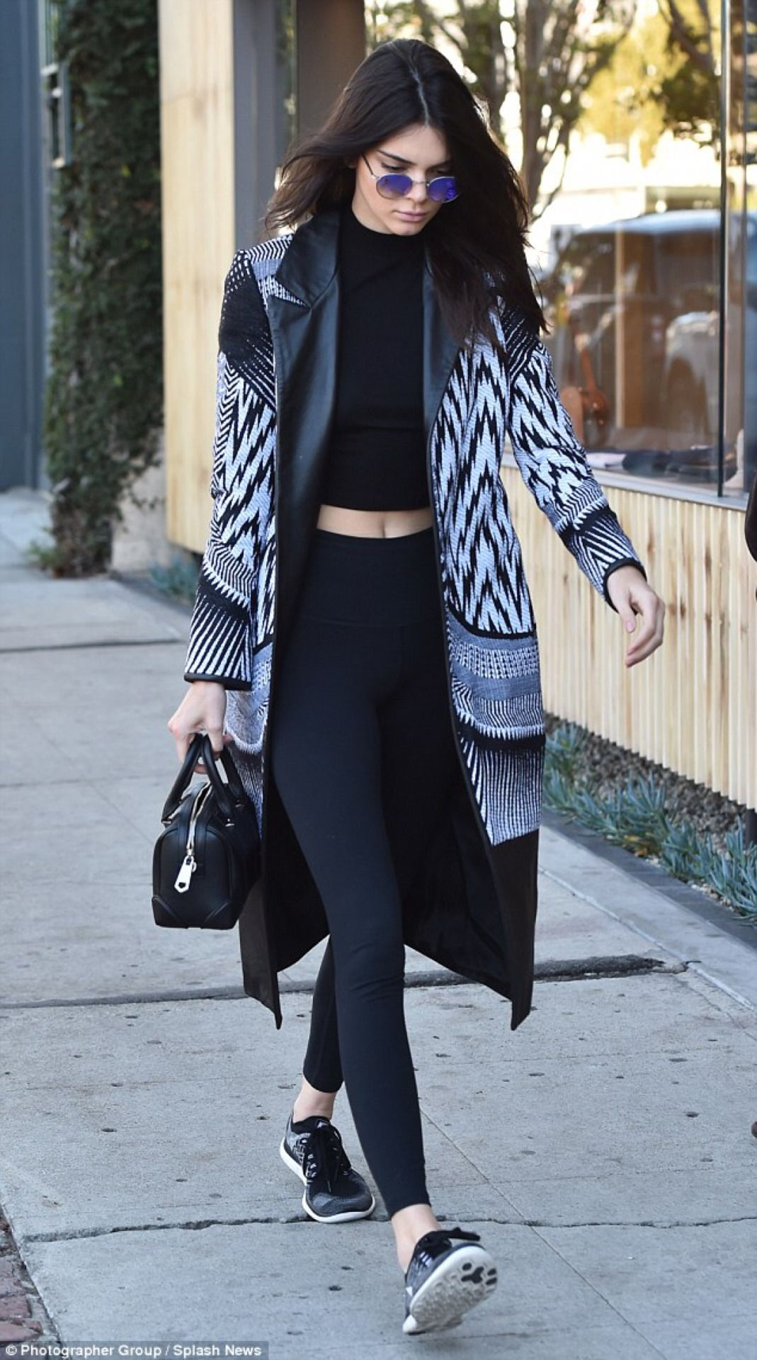 February 2nd 2016 kendall out in west hollywood