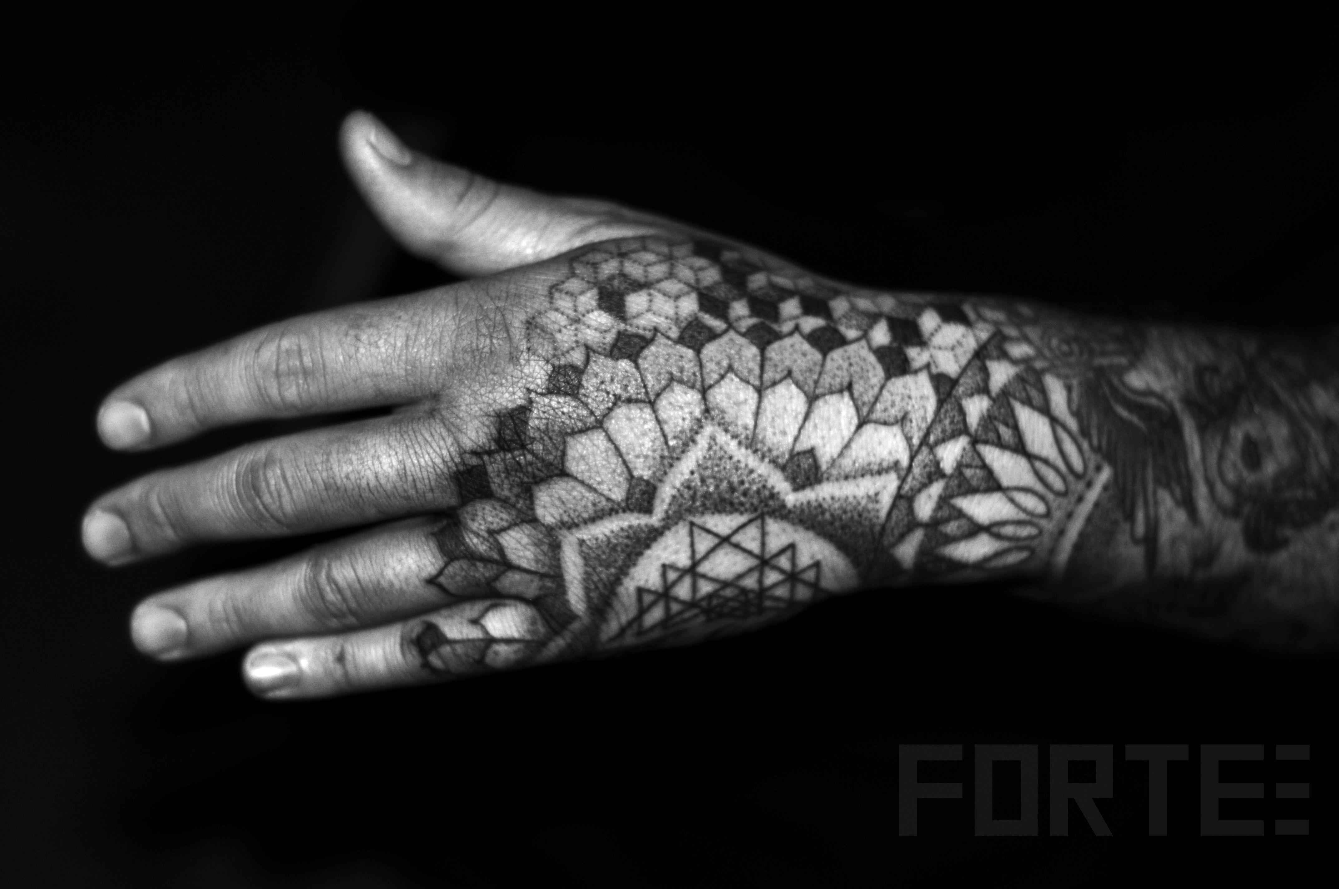 Http Tattoo Ideas Us Sacred Geometry Hand Tattoo On Jdotcolombo Hand Tattoos For Guys Mandala Hand Tattoos Geometric Tattoo