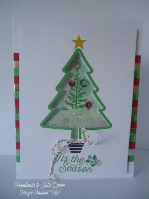 handmade by Julia Quinn - Independent Stampin' Up! Demonstrator: To You & Yours Shaker Cards Project Kit - more sne...