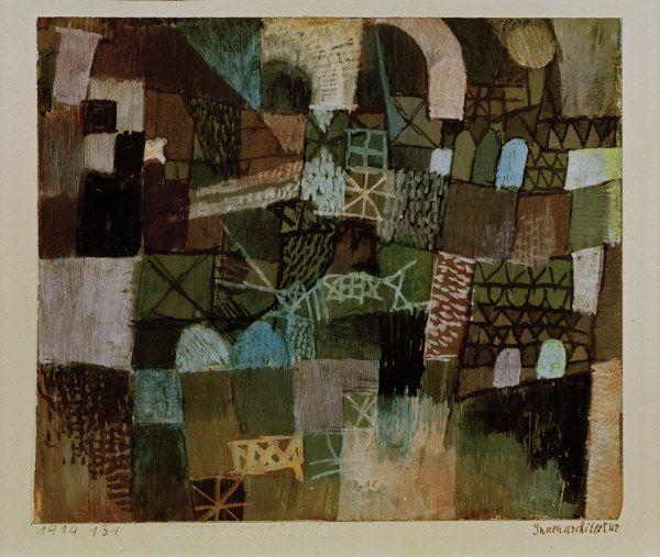 Paul Klee - Innenarchitektur, 1914.134