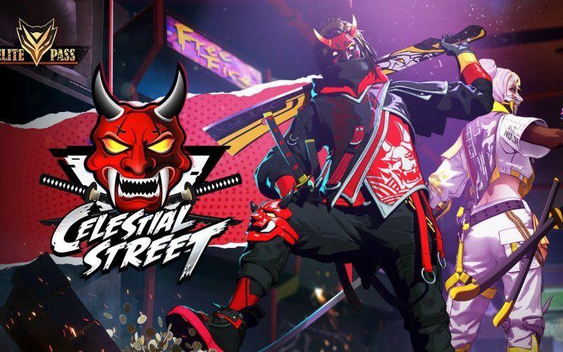 Free Fire S Celestial Street Elite Pass Hits The Streets Mobile Legend Wallpaper Free Avatars Photo Logo Design Gambar wallpaper ff season 2