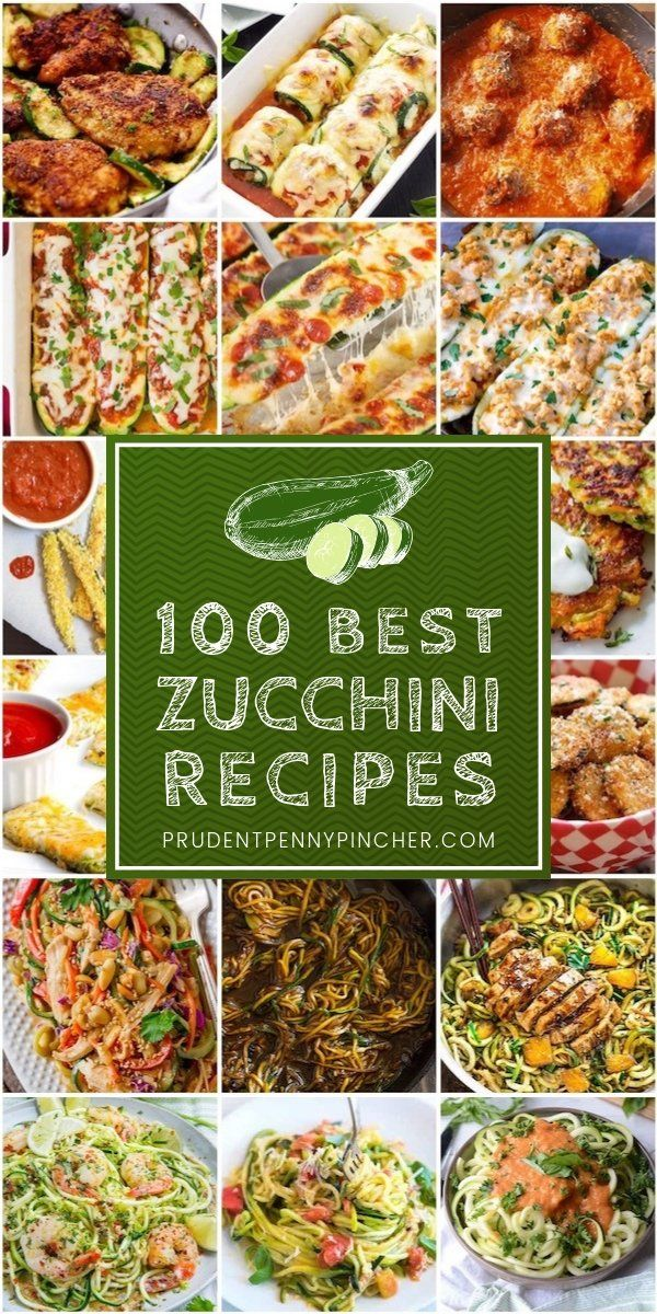 100 Best Zucchini Recipes images