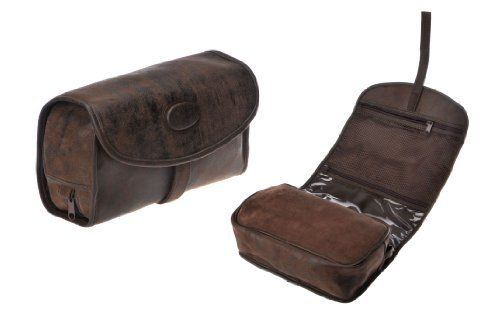 Danielle Enterprises Montana for Him Travel Hang Up Caddy with Velcro, Deep Brown
