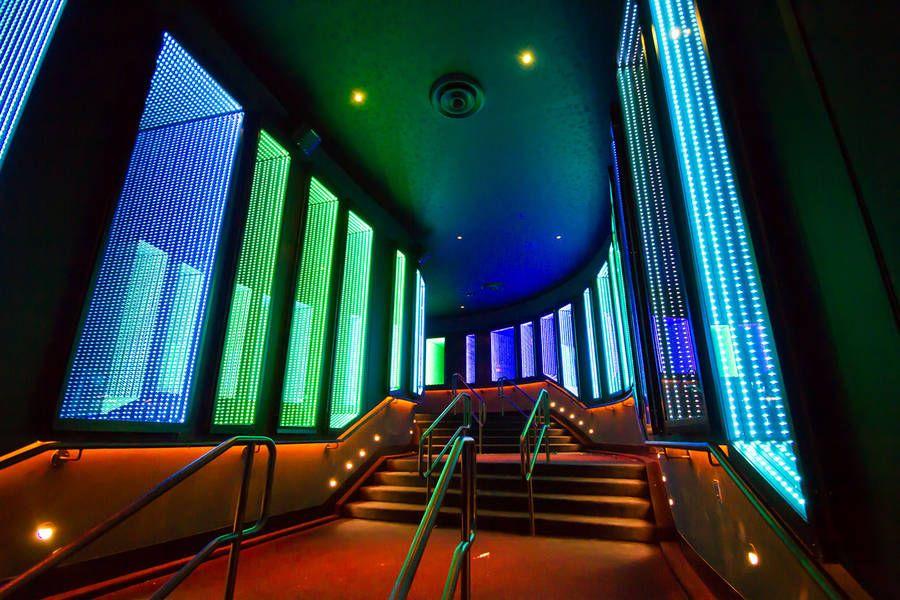 Colorful Interactive Digital Installations Grid design