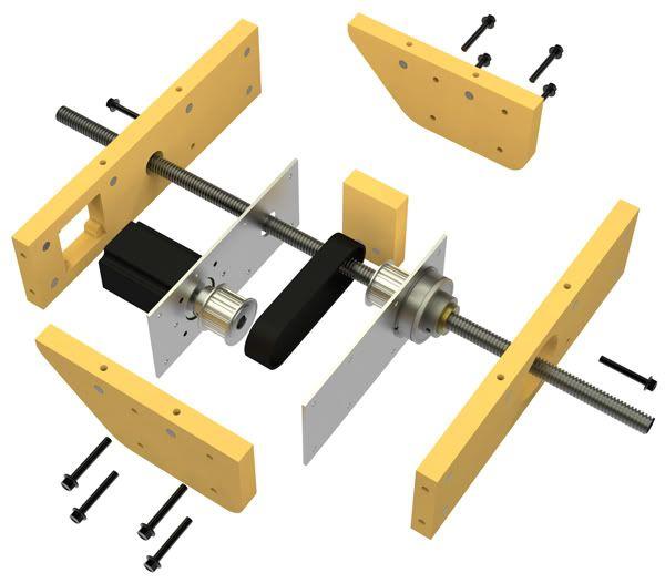 Grunblau Platform CNC build thread - RC Groups
