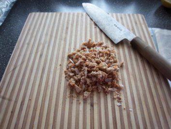 Lebkuchenparfait mit Hühnerei Eigelb und Zitrone Fruchtsaft - Rezept mit Bild
