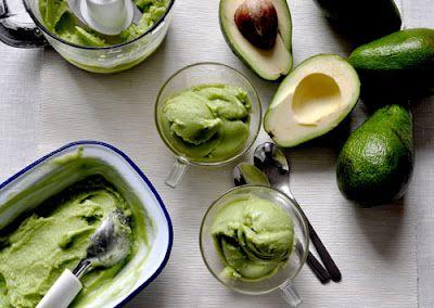 Avocado & Coconut Sorbet