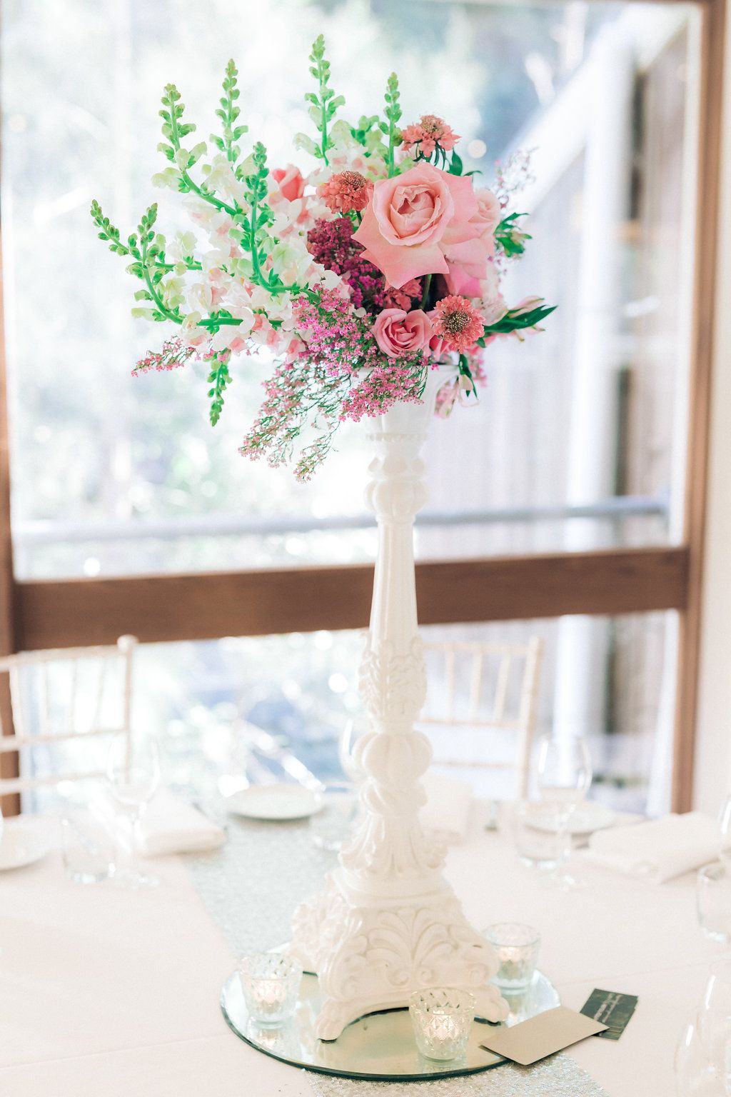 Wedding Styling Northern Beaches Table Centrepiece Candlestick Hire