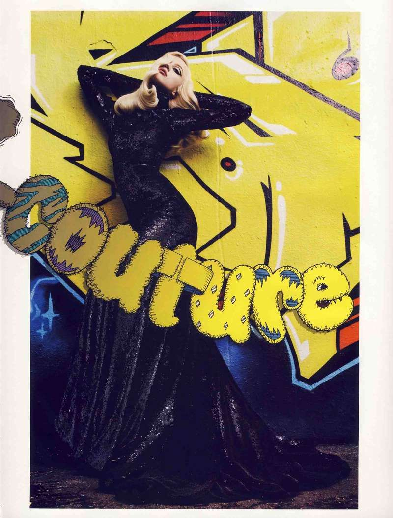 Couture Graffitography: Graffi-Couture in Vogue Paris Combines Urban Art With High Fashion