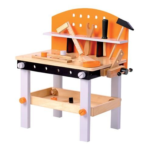 Wooden Tool Work Bench Kmart Workbench Kids Wooden Kitchen Wooden Toys