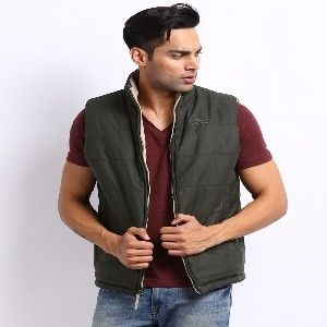 John Players Reversible Sleeveless Jacket @ 1499