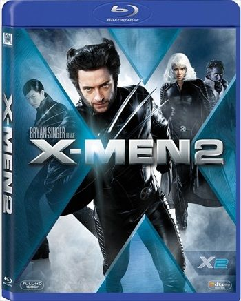 X Men 2 United 2003 Dual Audio Hindi 480p Brrip 300mb Movies Wolverine Movie Blu Ray Movies X Men