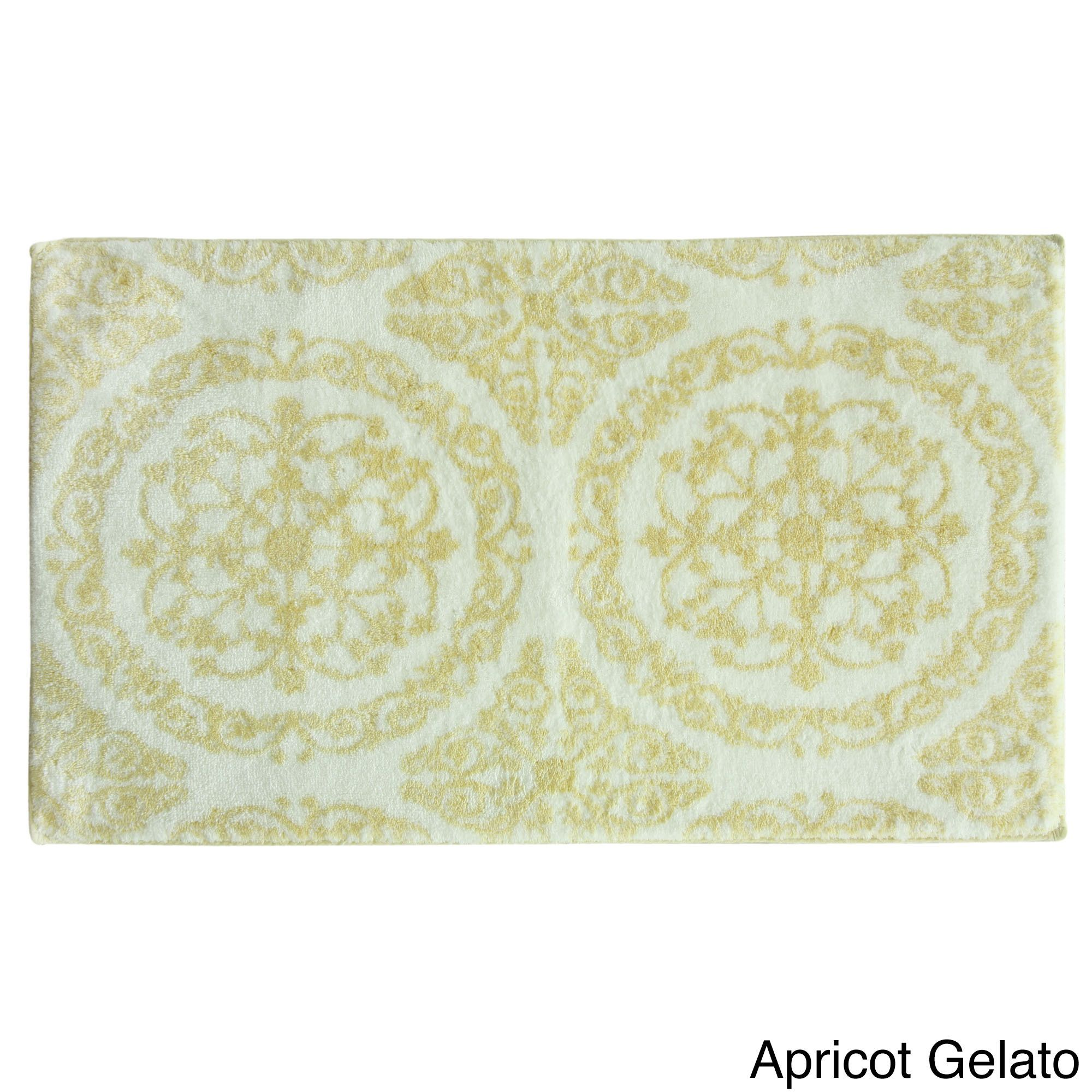 Jessica Simpson Ornamental 21x34 Inch Bath Rug