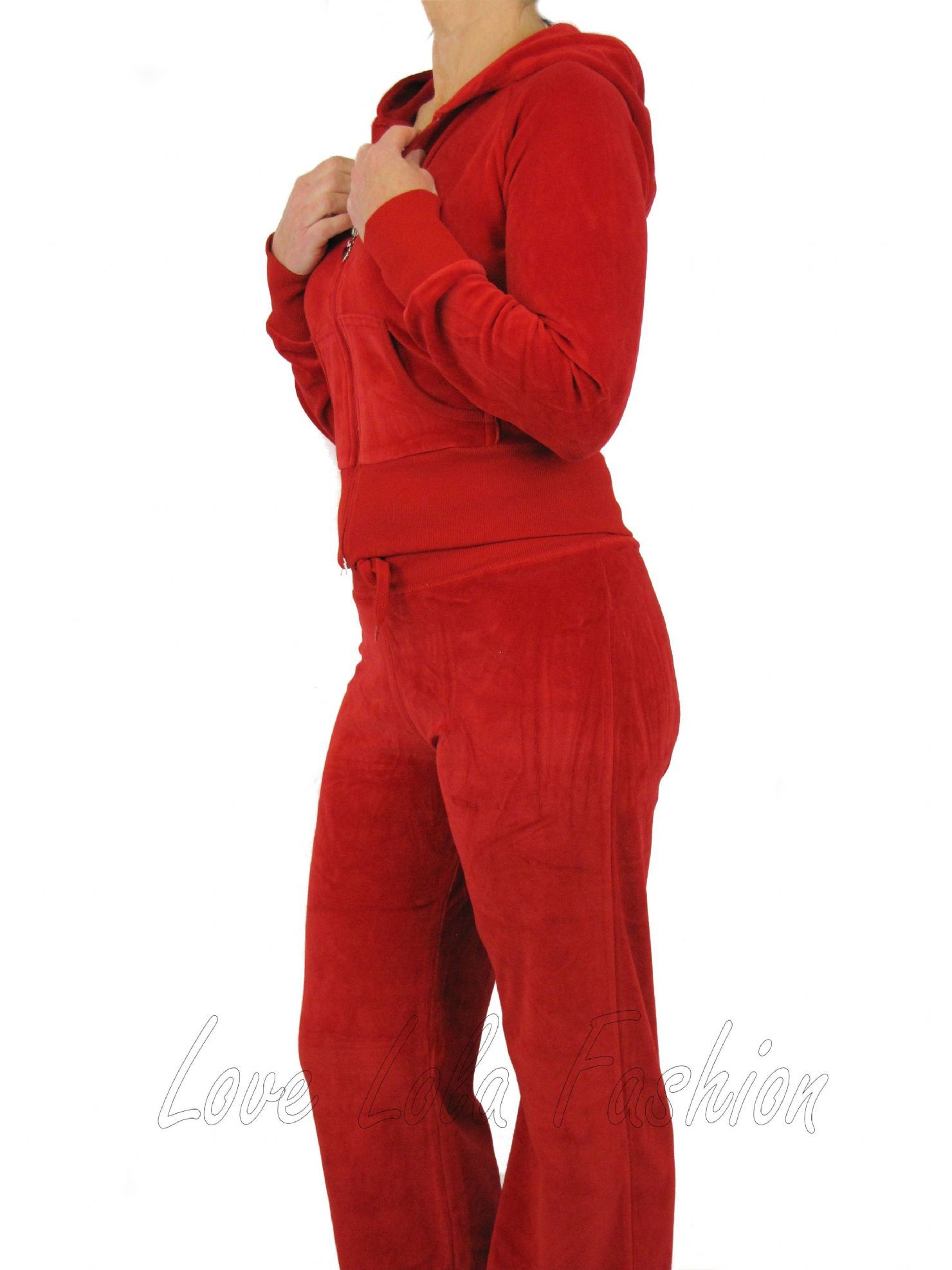 plus size short red skirt suits | love lola womens velour