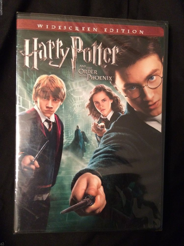 Harry Potter And The Order Of The Phoenix Dvd 2007 Widescreen Harry Harry Potter Potter