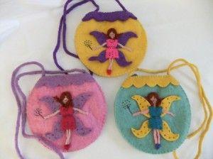 Felt Fairy Bags