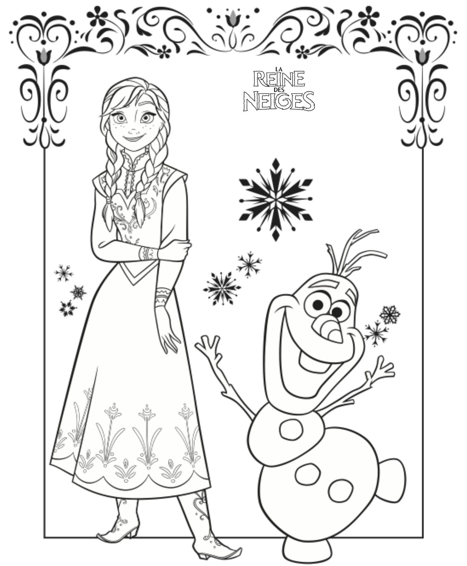 Coloriage Reine Des Neiges En Ligne : coloriage, reine, neiges, ligne, Simple, Coloriage, Reine, Neiges, Gratuit, Pictures, Coloring, Pages,, Frozen, Coloring,, Disney, Pages