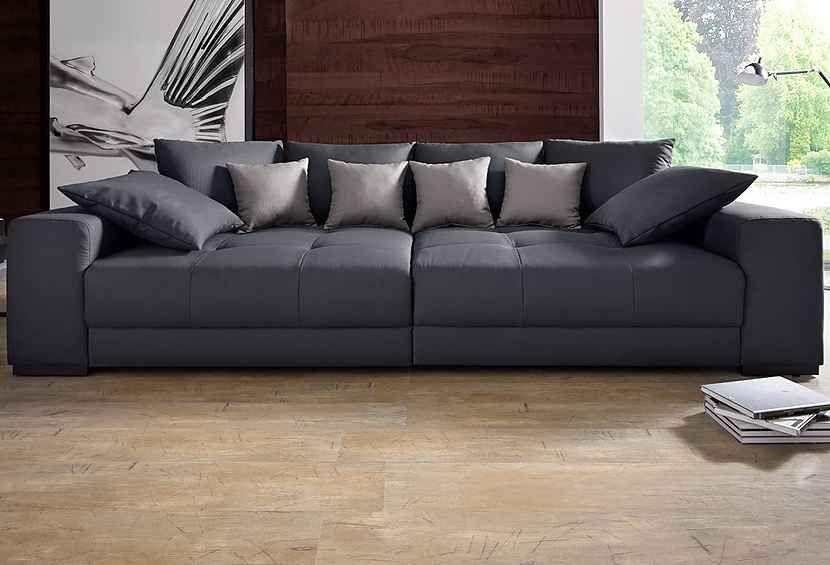 Big Sofa Mit Boxspringunterfederung Grosse Sofas Moderne Couch Grosse Couch