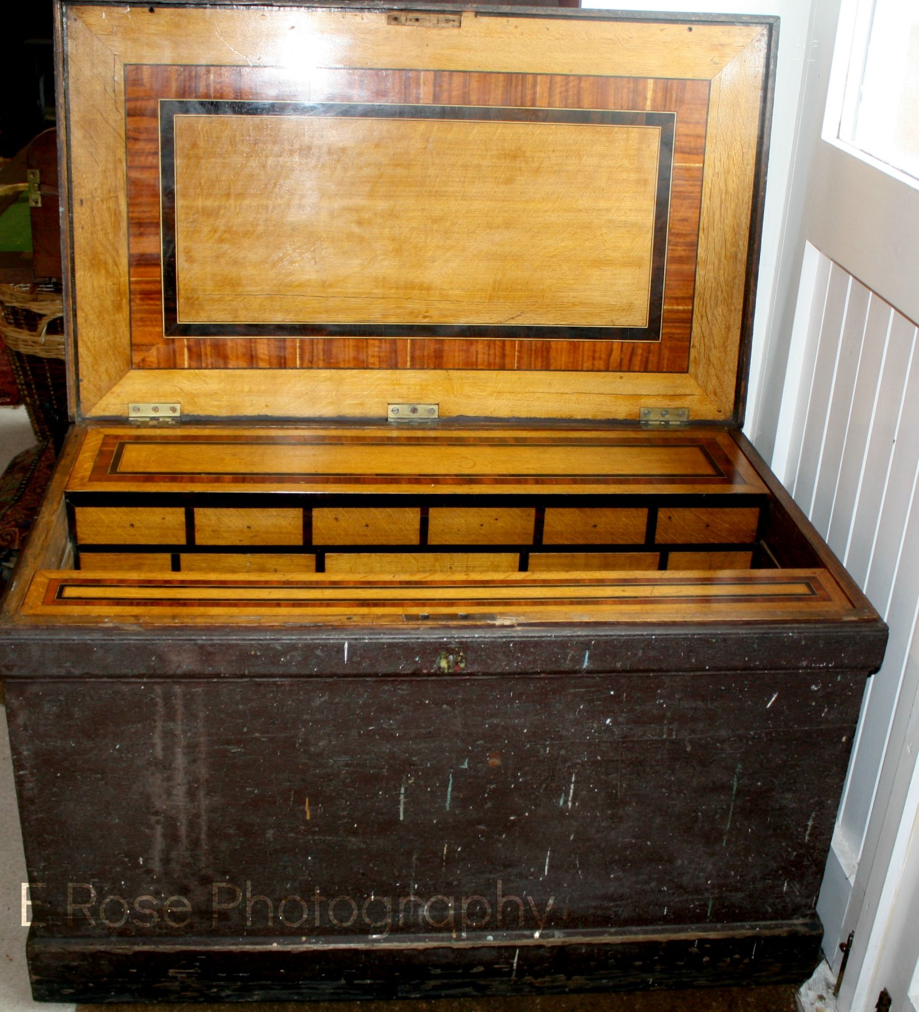 Large Early Victorian Cabinet Makers Tool Chest C 1840 Used Woodworking Tools Woodworking Tools Router Antique Woodworking Tools