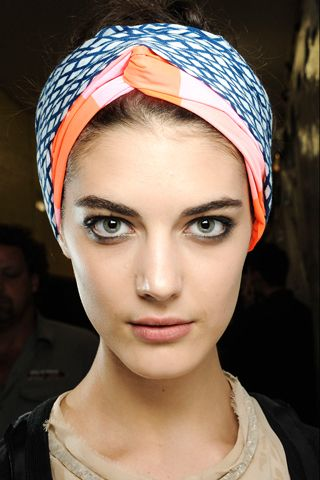 Scarf as Head Band - Marc Jacobs