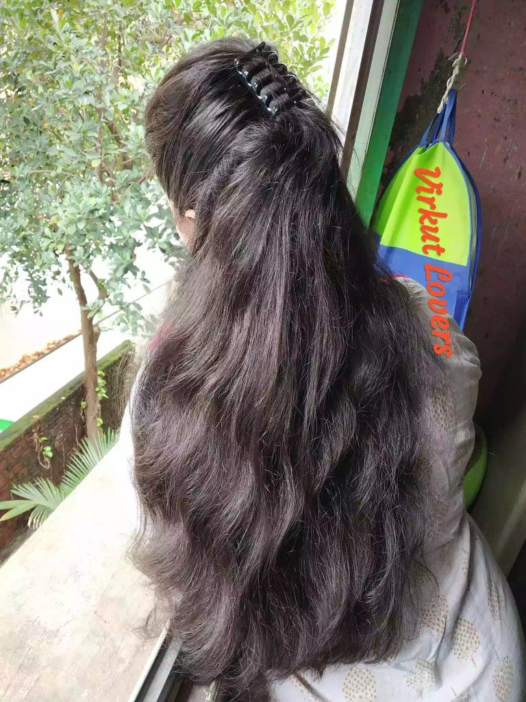 Pin By Buck69 On Long Hairstyles Thick Hair Styles Indian Long Hair Braid Long Silky Hair