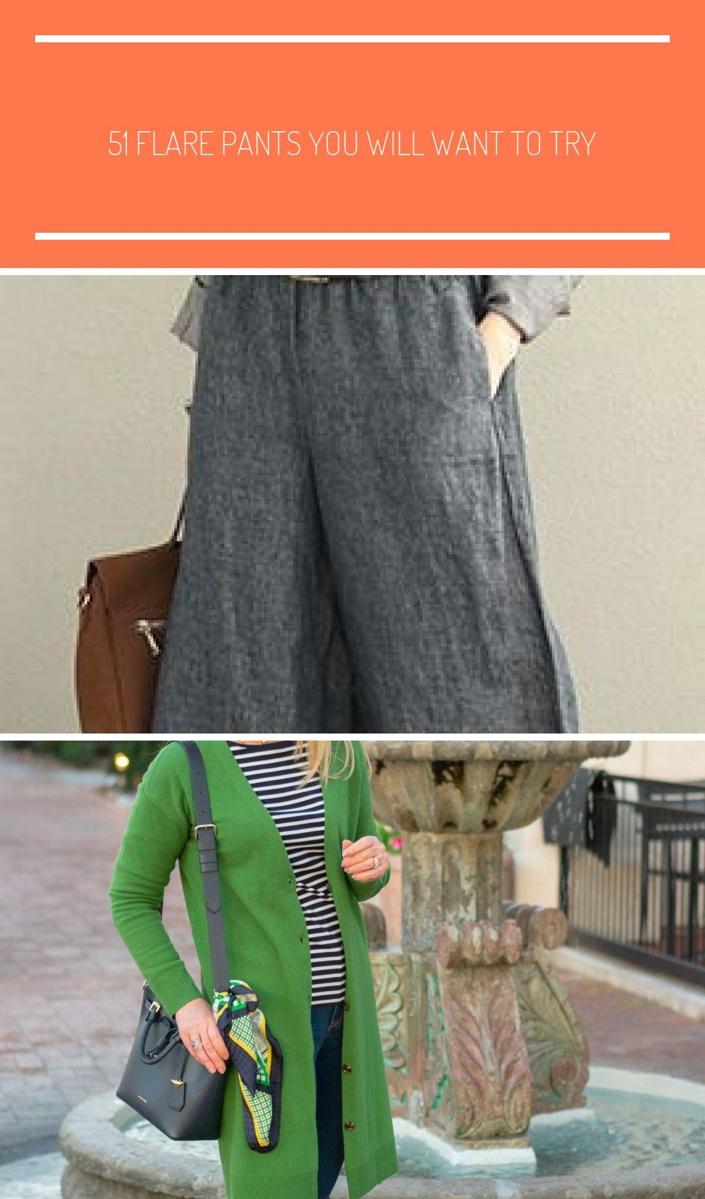 51 Flare Pants You Will Want To Try casual spring outfits for women over 40 over 50 style 51 Flare Pants You Will Want To Try  Fashion New Trends