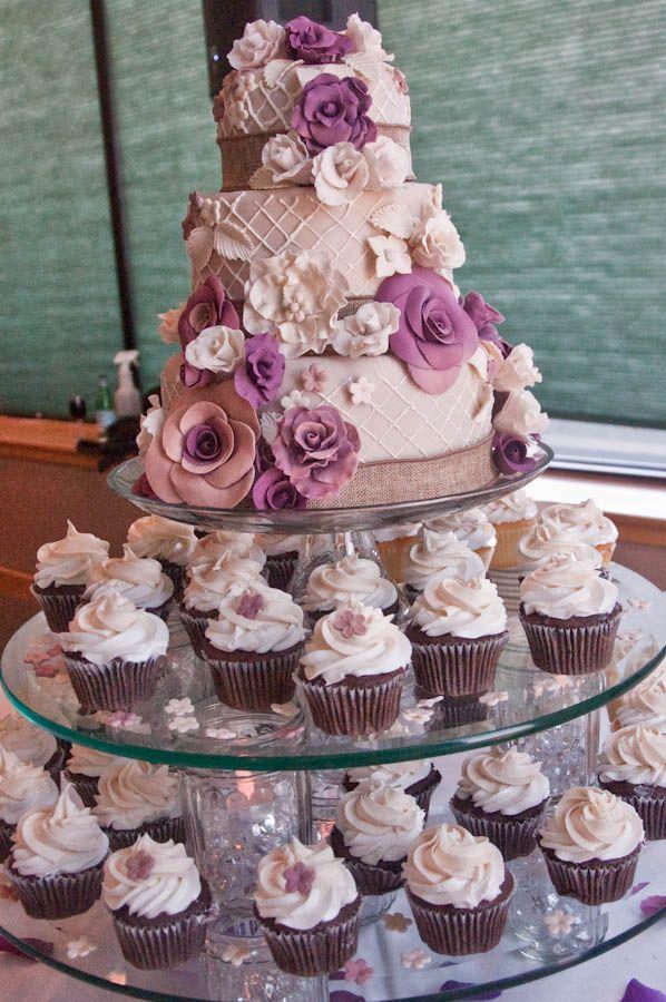 Lincoln Nebraska Wedding Cake And Cupcakes