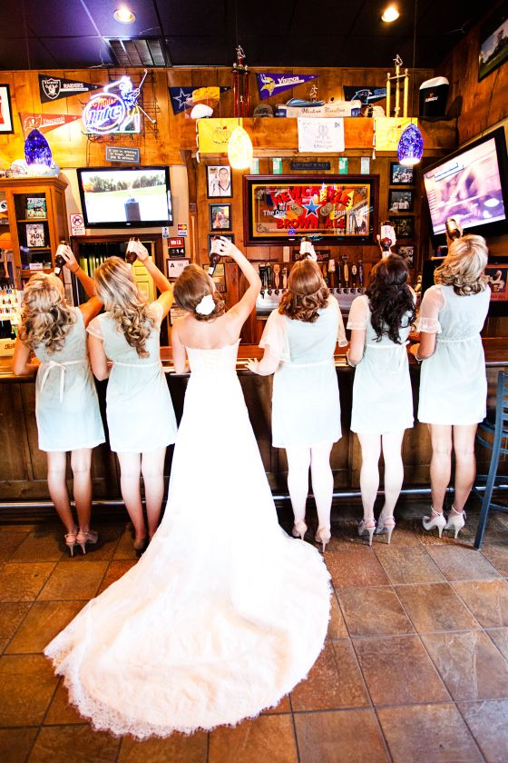 A little wedding pre-game-love this!