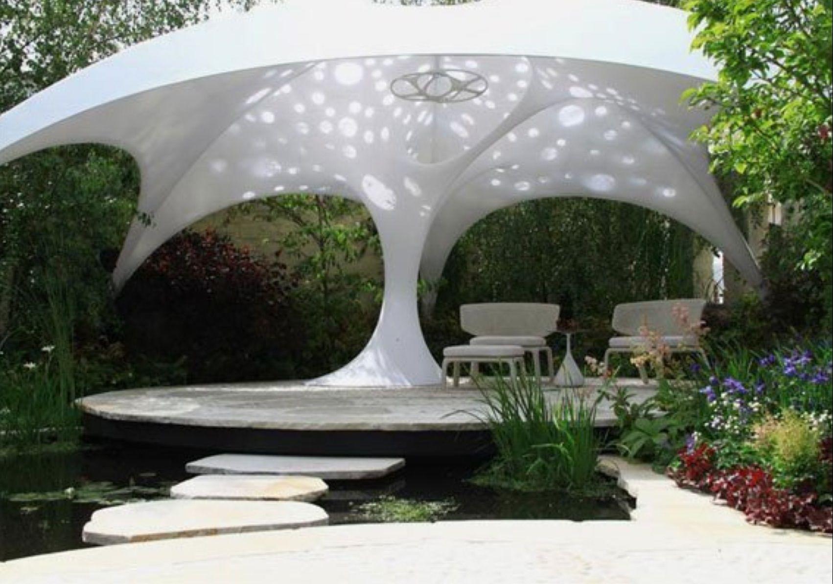 Image result for futuristic patio