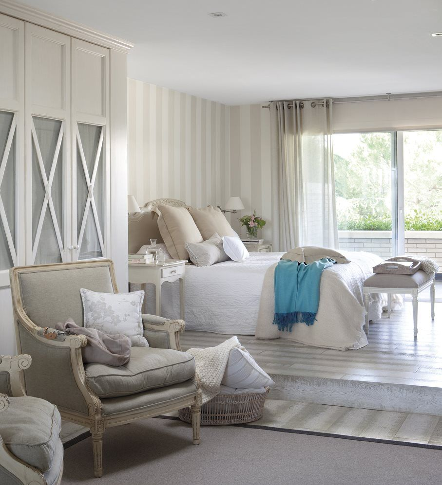 15 pasos para transformar el dormitorio en un oasis de relax casa pinterest dormitorio de - Decoracion de dormitorio principal ...