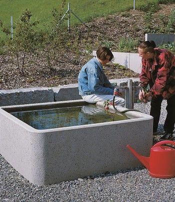 Brunnen | Beton Christen AG | Gartenideen | Pinterest | Rooftop ...