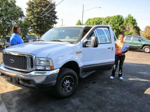 Congratulations Mr. Jacobs and Ms. Chavis on your 2003 Ford Excursion. Welcome to the Landmark Family! #landmarkautoinc