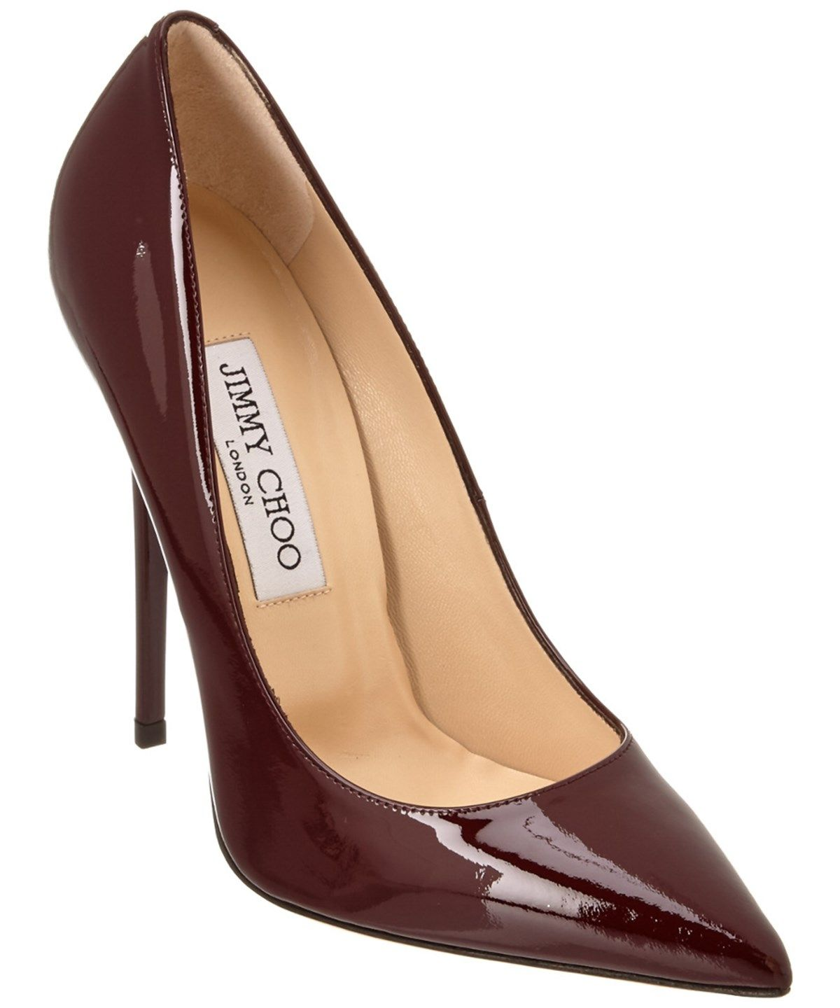 6c38befb8fc2 JIMMY CHOO JIMMY CHOO ANOUK 120 PATENT POINTY-TOE PUMP .  jimmychoo  shoes   pumps   high heels
