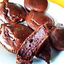 Brownies de alfarroba