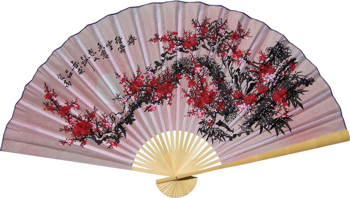 Asian Wall Fans Purity Blossoms Chinese Wall Wall Fans Chinese Fans