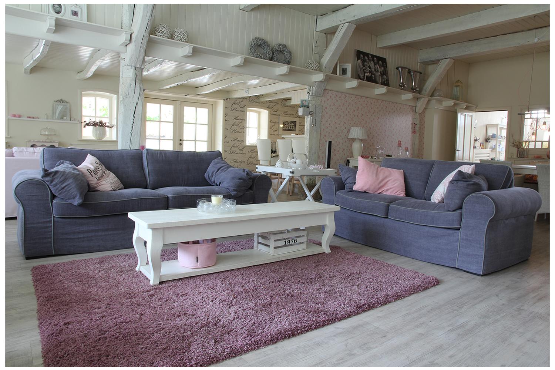 Landelijke en brocante woonkamer | Cottage style | Pinterest ...