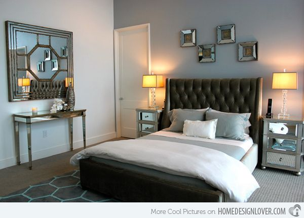15 Sample Photos Of Decorating With Mirrored Furniture In The