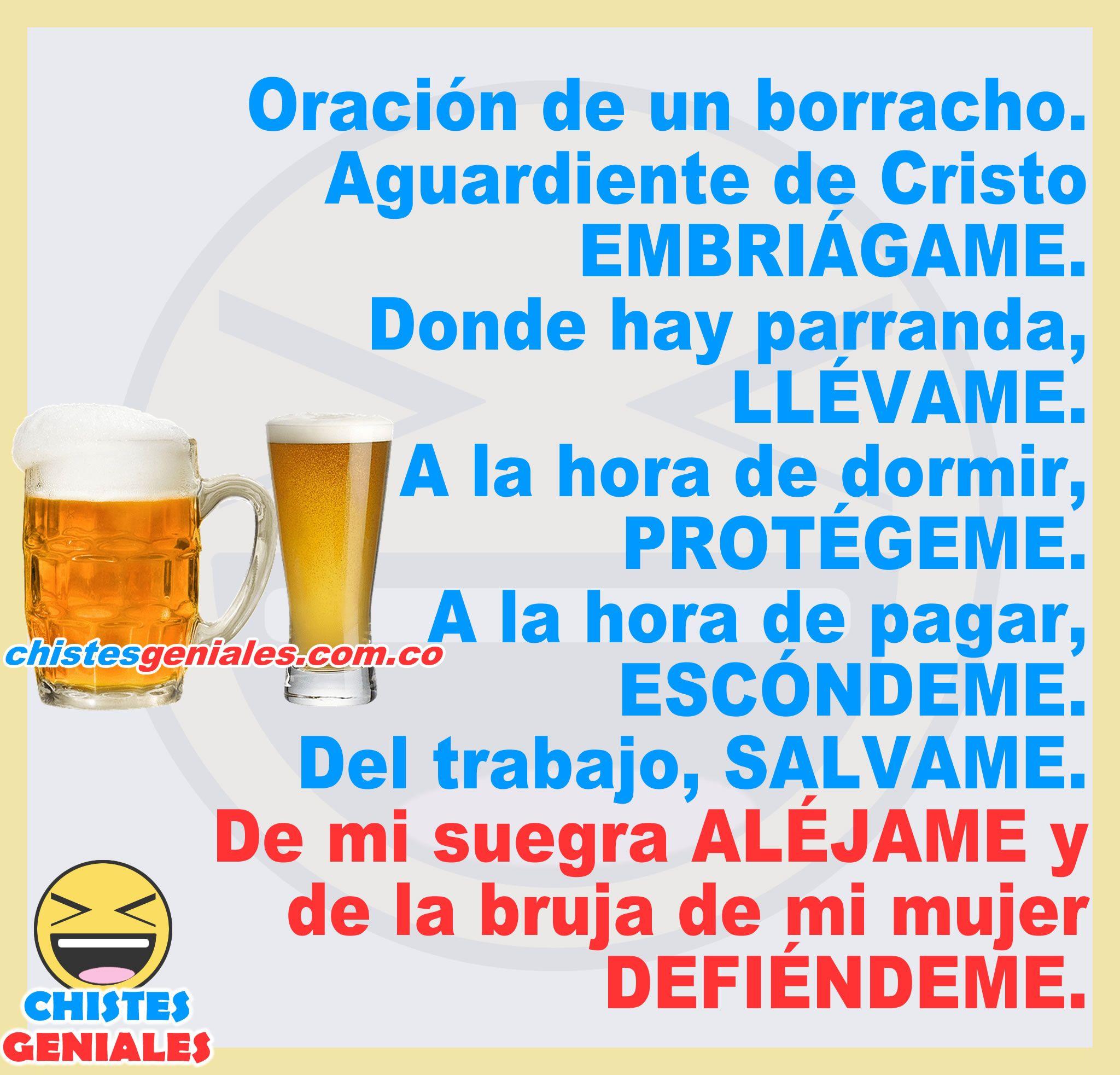 La Oracion De Un Borracho Beer Quotes Funny Funny Spanish Memes Beer Memes