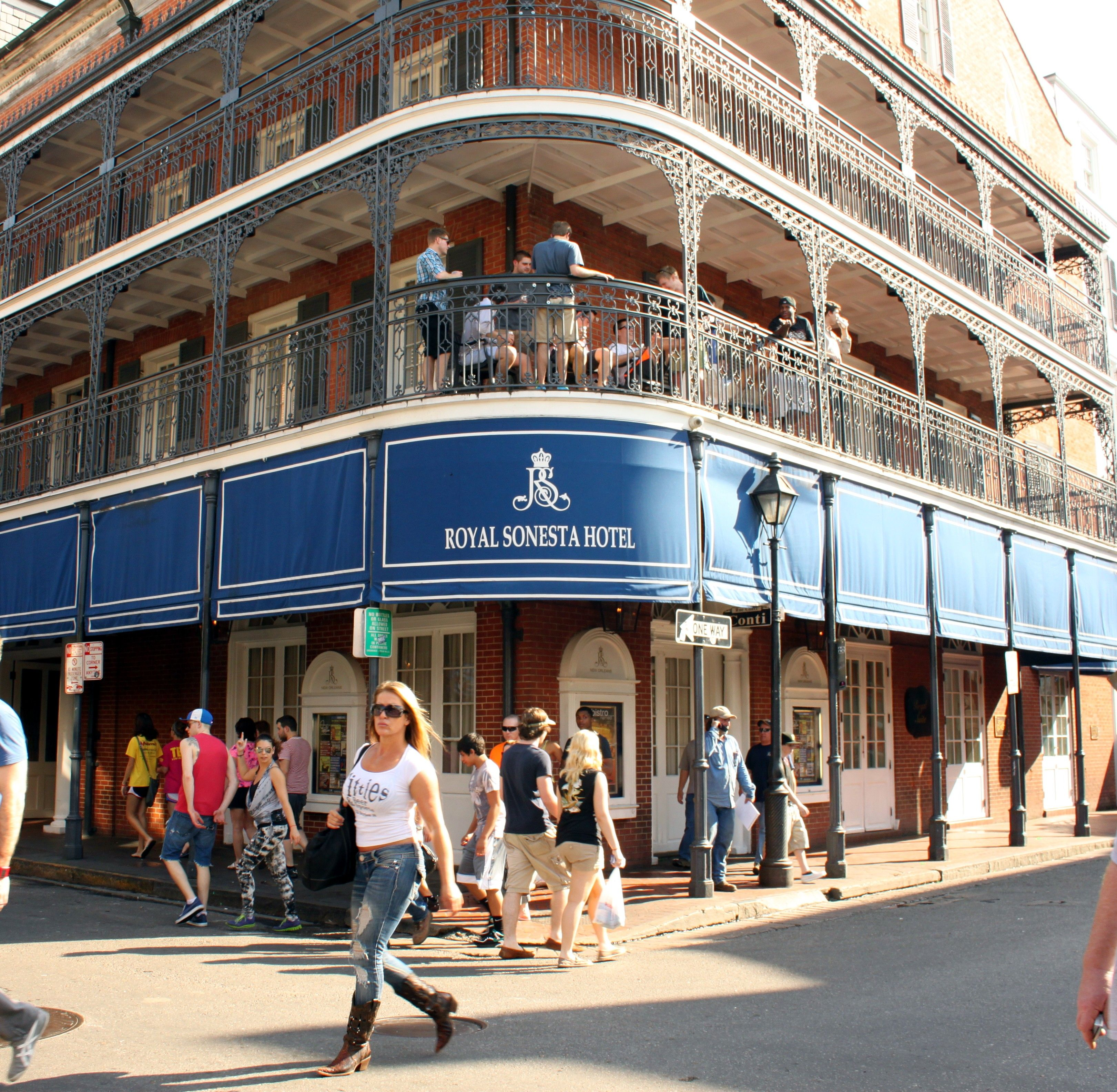 French Quarter New Orleans Hotels Sonesta Hotel In We Stay Here And