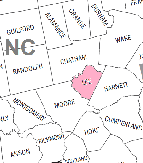 Lee County Nc Lee County North Carolina Edit This Page North